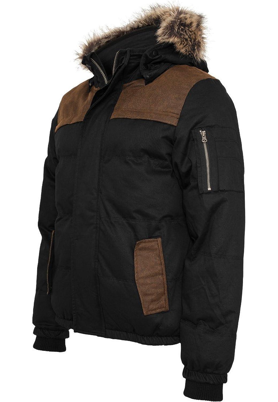 TB898 Heavy Twill Bubble Jacket Herren Jacke Kapuze Winterjacke