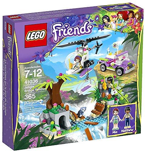 Lego Friends Jungle Bridge Rescue 41036 Building Set