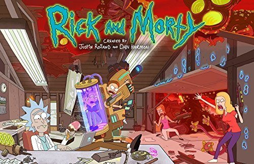 rick-and-morty-season-two-poster-by-the-mystery-shack