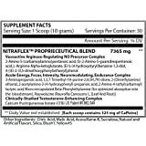 GAT - NITRAFLEX - Testosterone Enhancing Powder, Increases Blood Flow, Boosts Strength and Energy, Improves Exercise Performance, Creatine-Free (Fruit Punch, 30 Servings)300 grams