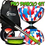 "Mr Babache ""Harlekin"" Diabolo Kit (Bl..."