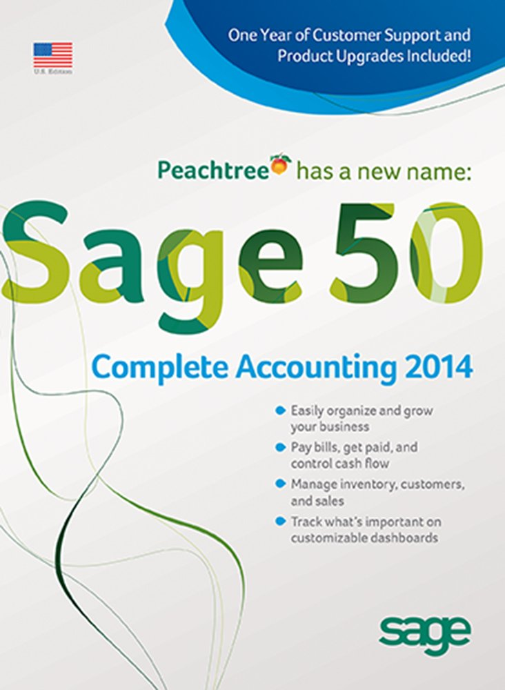 Sage 50 Complete Accounting 2014 US Edition 5-User
