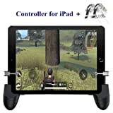 Tablet Game Controller - Aovon Mobile Gamepad Sensitive Shoot Aim Trigger Button for PUBG/Knives Out, Support 4.5-12.9 inch iPad Tablet & Smartphone (Color: Mobile Controller - E)