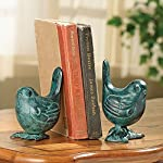 Spi Iron Birds On Branch Bookends