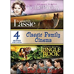 Classic Family Cinema - 4 Movies!