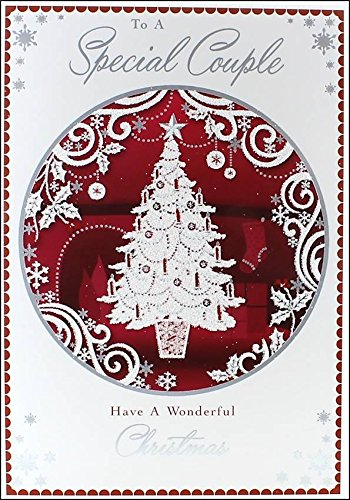 special-couple-christmas-card-xmas-tree-holly-on-big-red-bauble-75-x-525