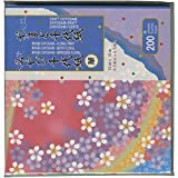 Aitoh FLCKFC Origami Paper, 5.875-Feet x5.875-Inch, 200-Pack