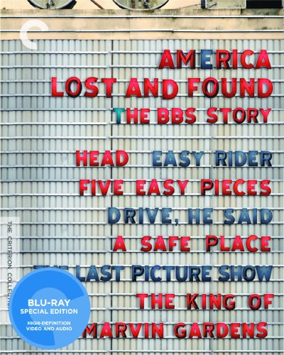 Cover art for  America Lost and Found: The BBS Story (Head / Easy Rider / Five Easy Pieces / Drive, He Said / The Last Picture Show / The King of Marvin Gardens / A Safe Place) (The Criterion Collection)[Blu-ray]
