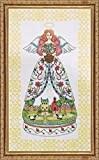 Tobin DW2811 14 Count Counted Cross Stitch Kit, 9 by 15-Inch, Summer Angel-Jim Shore