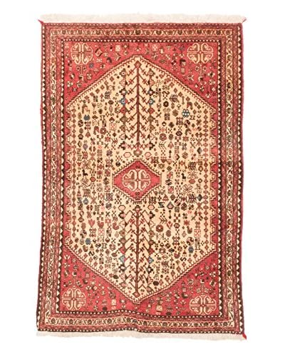eCarpet Gallery One-of-a-Kind Hand-Knotted Abadeh Rug, Copper/Gold, 3' 4