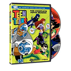 Teen Titans: The Complete Fifth Season movie