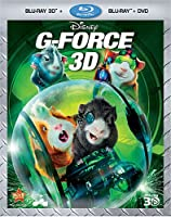 G-Force (Three-Disc Combo: Blu-ray 3D/ Blu-ray/DVD) by Walt Disney Studios Home Entertainment