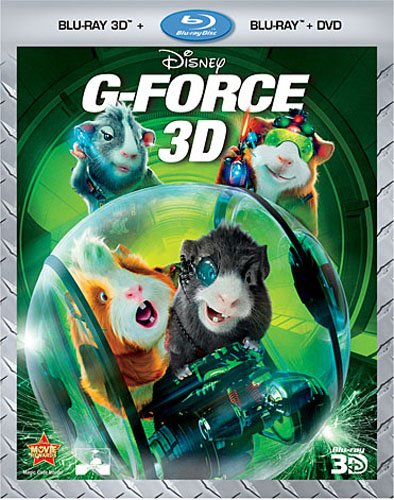 Cover art for  G-Force (Three-Disc Combo: Blu-ray 3D/ Blu-ray/DVD)