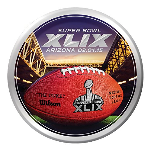 Creative Converting Arizona 8 Count Super Bowl 2015 Paper Dinner Plates, Multicolored