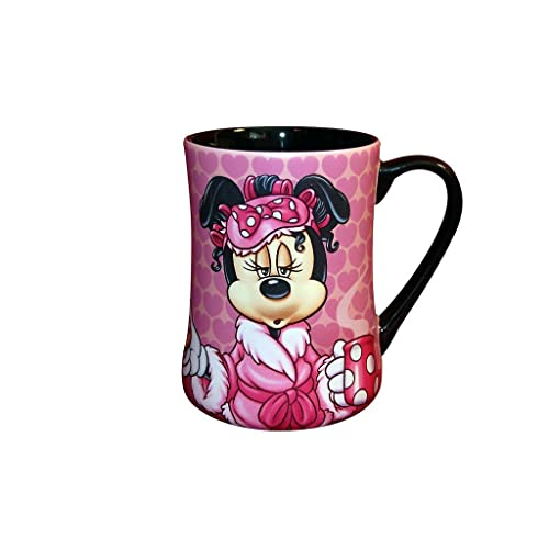 Pink Minnie Mouse Coffee Mug Gift for Disney Lovers