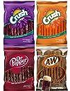 Orange, Grape Crush, Dr. Pepper & A&W…