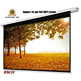 """Elcor Wall & Ceiling Mounted Auto Lock/insta Lock Projector Screen Size: 5'X7' 100"""" Diagonal Quality: A++++++"""
