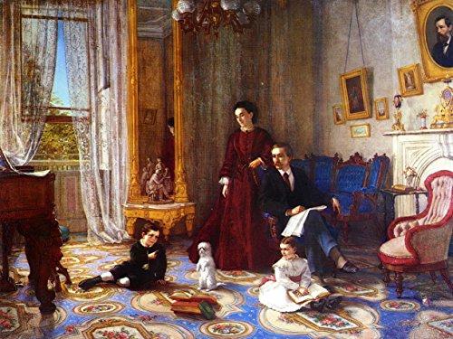 odsanart-12-x-9-post-andere-impressionismus-the-lessonvon-john-barnard-whittaker-hochwertiger-edler-