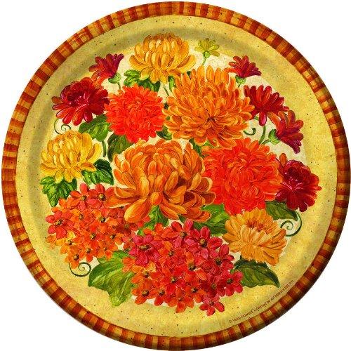 Magnificent Mums Dessert Plates