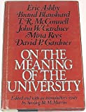 img - for On the Meaning of the University book / textbook / text book