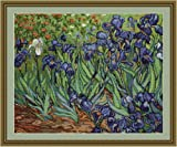 Luca-S Van Gogh Irises Counted Cross Stitch Kit