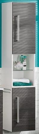 35.5x 169cm biancheria congelatore colore (Corpo): Bianco lucido, colore (front): pino Antracite, orientamento: Cerniere a Destra