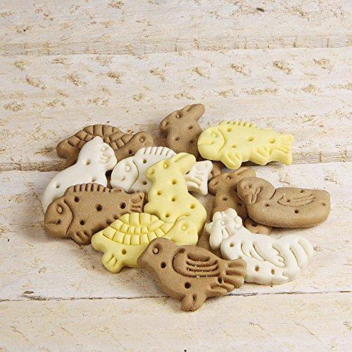 Artikelbild: Tierfiguren Mix (Zookekse) schmecken einfach fantastisch und eignen sich hervorragend als Belohnungshappen für die Hosentasche Hunde Hundekekse Hundekuchen Biskuits