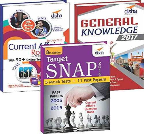 SNAP Simplified (11 yrs Past papers + 5 Mock Tests + General Knowledge/ Current Affairs) 5th Edition