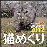 2012年 カミン猫めくり(猫と出会える365日) スタンド付パッケージ入り