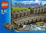 2 X LEGO City 7499: Flexible Tracks