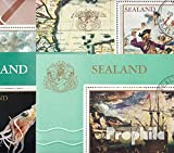United kingdom-Principality Sealand 28 different stamps (Stamps for collectors)