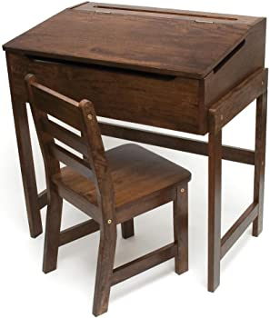 Schoolhouse Desk and Chair Set