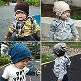 Boy Girl Fashion Trendy Baby Toddler Child Hat Knit Beanie Warm Winter Cap
