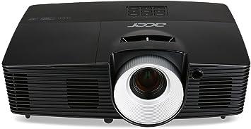 Acer P1287 3D XGA DLP-Projektor (4.200 ANSI Lumen, Kontrast 17.000:1, XGA 1024 x 768 Pixel, HDMI/MHL Anschluss, 144 Hz Triple Flash) schwarz
