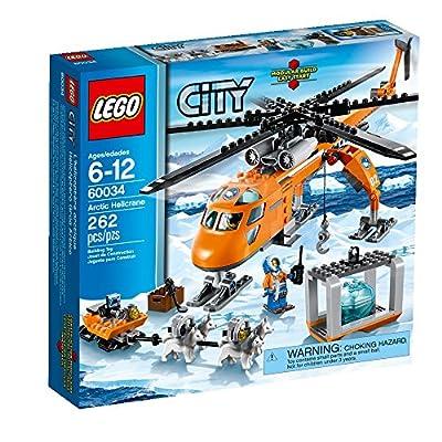 LEGO City Arctic Helicrane 60034 Building Toy by LEGO City Arctic