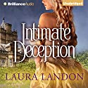 Intimate Deception Audiobook by Laura Landon Narrated by Sarah Coomes