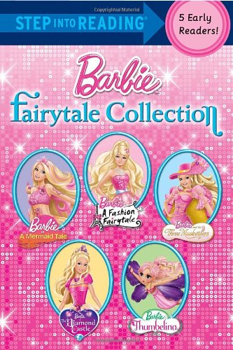 Barbie Fairytale Collection (Step Into Reading: A Step 2 Book)