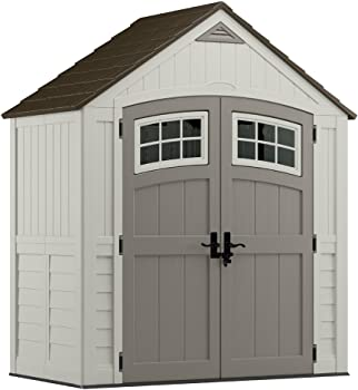 Suncast Cascade Blow Molded Resin Storage Shed