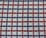 Arvind Men's Cotton Checkered Shirt Fabrics(ARV_55_Multicolour)