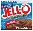 Jell-O Sugar-Free Instant Pudding & Pie Filling, Chocolate, 1.4-Ounce Boxes (Pack of 24)