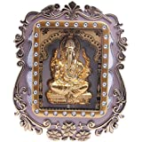 Mumbai Made Plastic Ganesh Ji Lighting Wall Frame (12 Cm X 12 Cm X 12 Cm, Multi)