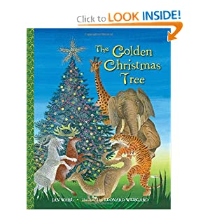 The Golden Christmas Tree (Big Little Golden Book) Jan Wahl and Leonard Weisgard