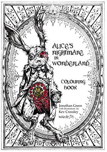 Download Alice's Nightmare in Wonderland Colouring Book