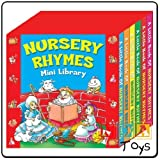 Nursery Rhymes Mini Library pack of 6 mini Board Books