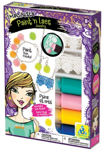 The Orb Factory Imaginista Paint ' Lace Jewelry
