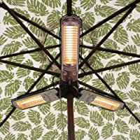 AZ Patio Heaters AZ Patio Heater Electric Umbrella Heater from AZ Patio Heaters LLC