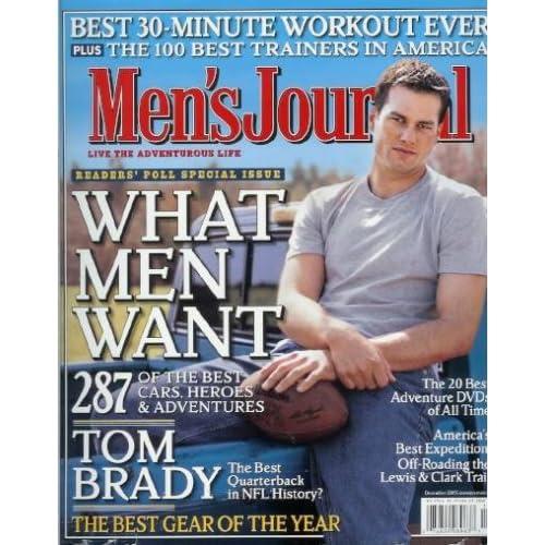 Men's Journal - December 2005: Tom Brady, Angelina Jolie, and More