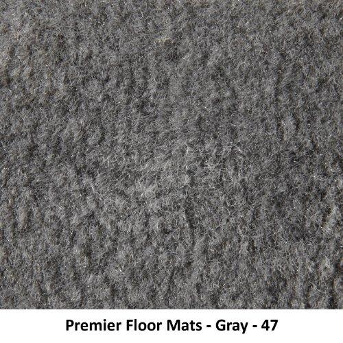 Nylon Carpet Black Coverking Custom Fit Front Floor Mats for Select Saab 900 Models