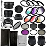 28 in 1 Kit : 52mm Wide Angle Lens +...
