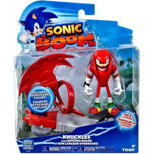 "Sonic The Hedgehog Sonic Boom Knuckles 3"" Feature Action Figure - 1"
